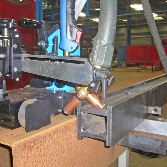 GLUMAG - 2 torches welding carriage