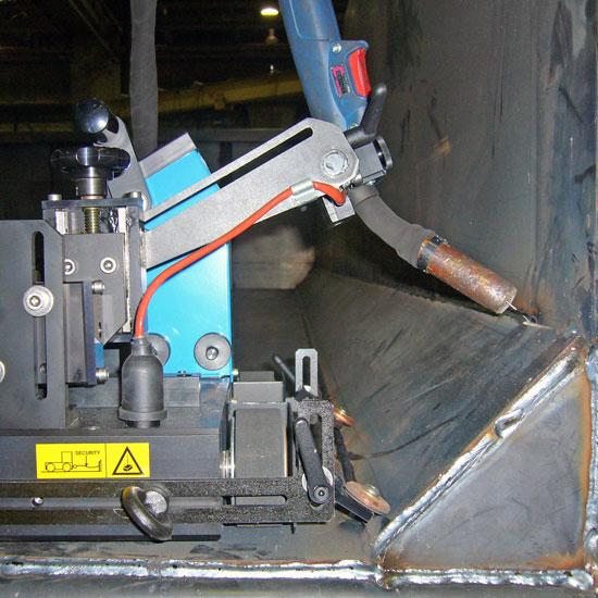 GLUMAG - Angle welding - Dumpster