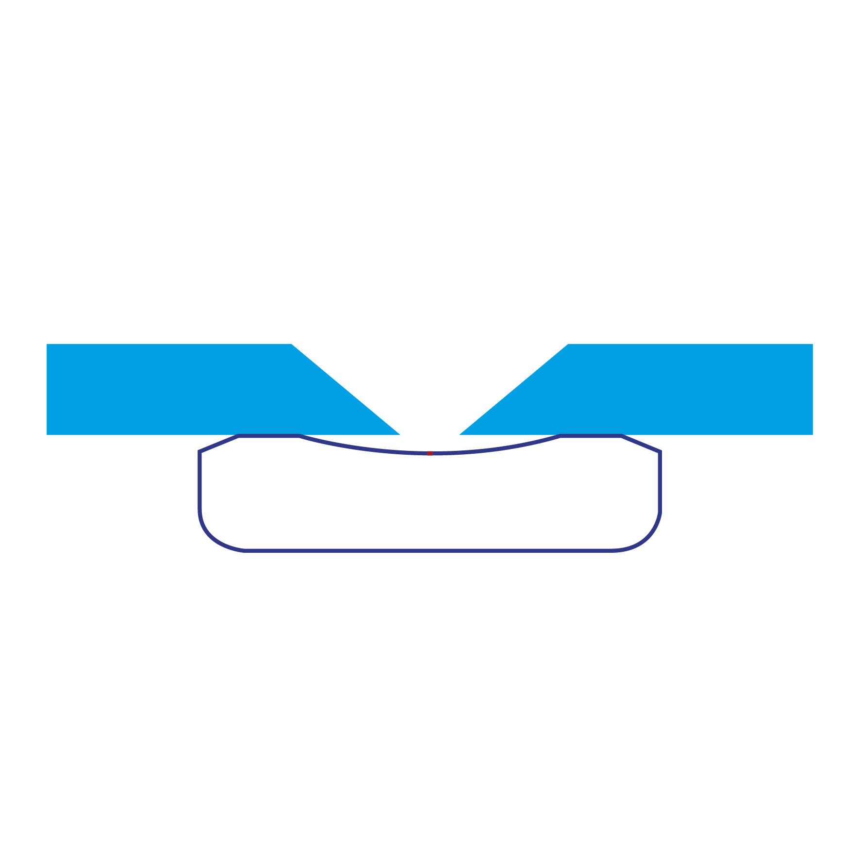 Latte plate à gorge concave - SERVISOUD