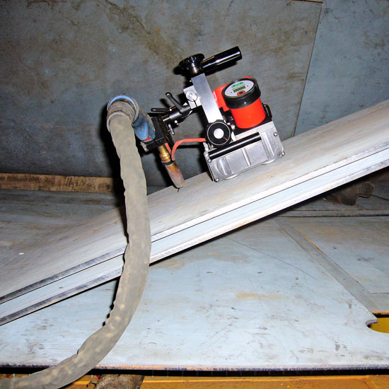 MAGLIGHT - Inclined plane welding option