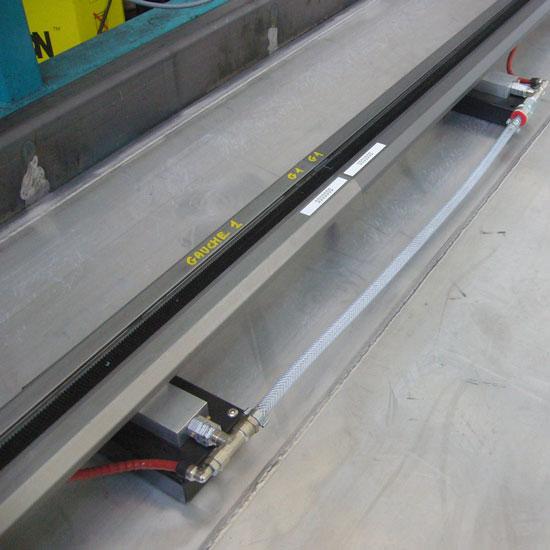 RAILMAG - Rail Rigide fixation magnétique