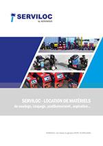 Catalogue de location SERVILOC - SERVISOUD